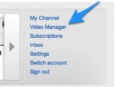 Youtube Video Manager