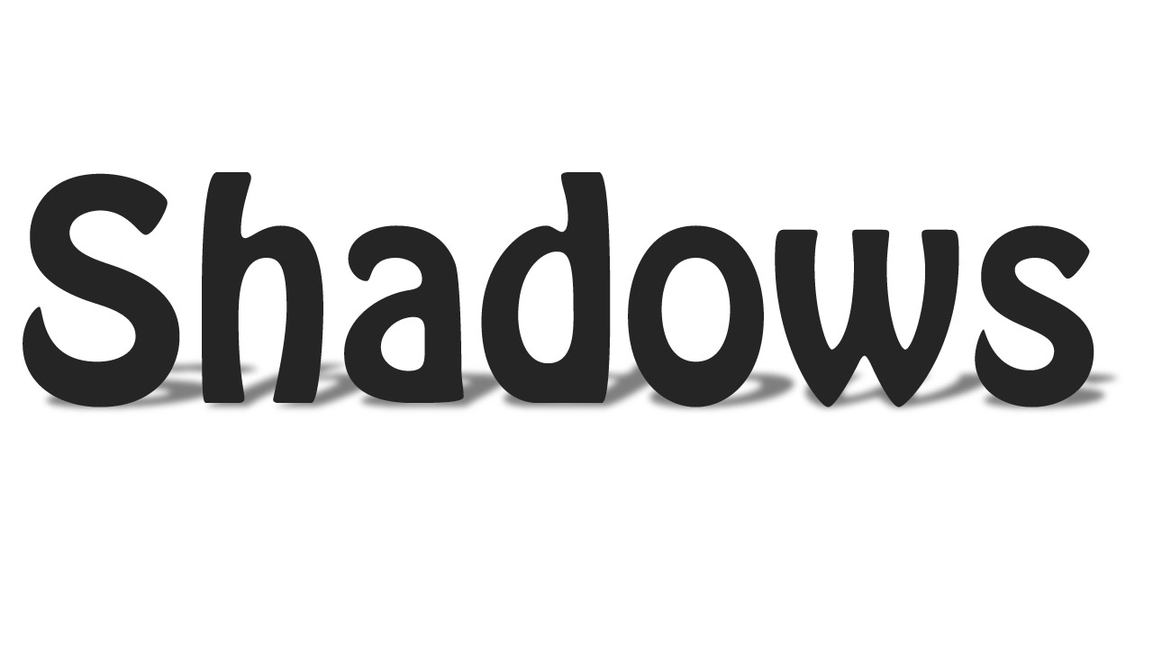 Add Shadows to your objects in Photoshop