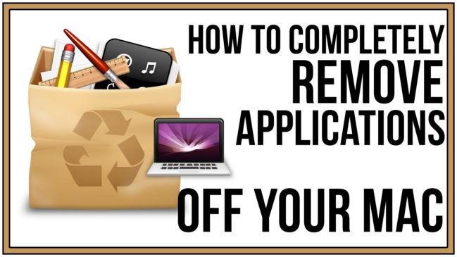 How To Remove Application Off Mac Thumb